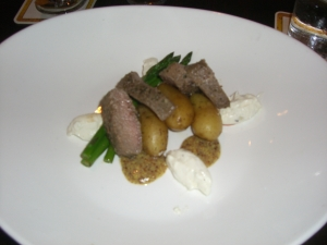 Roasted Loin of Lamb