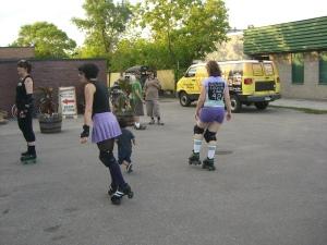 Roller Derby Daycare